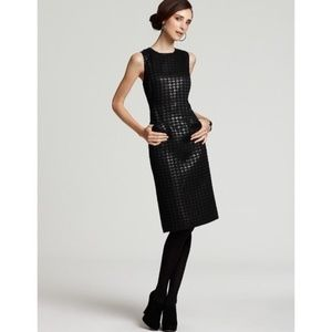 Tory Burch Metallic Houndstooth Dress Size 6